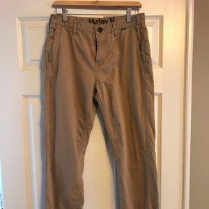 Hurley Khaki Pants.